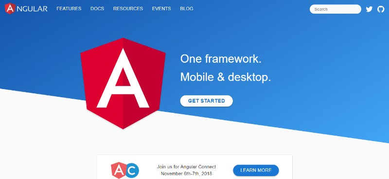 angular pengembang website