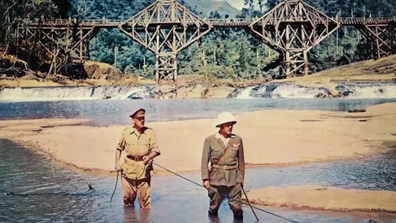The Bridge on the River Kwai (1957) film perang terbaik